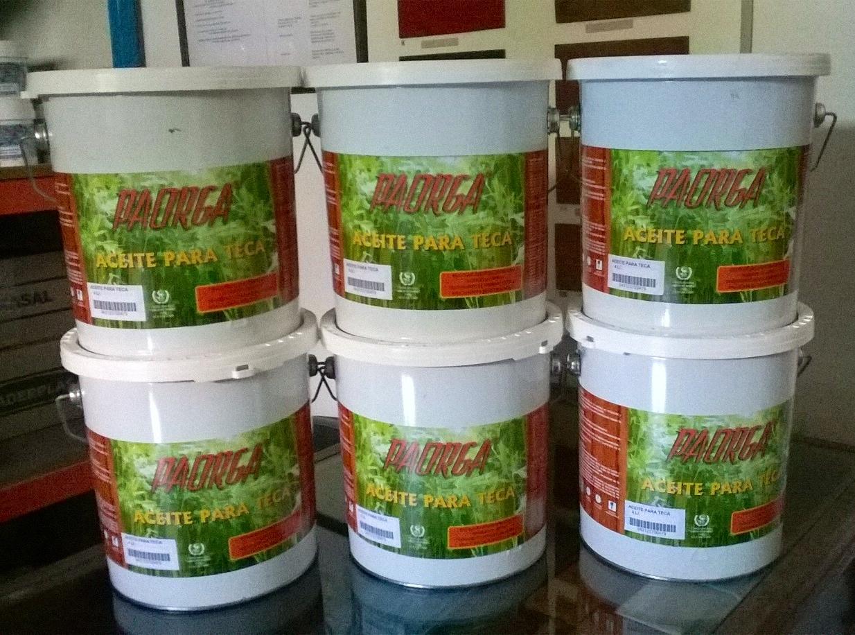 Aceite para teca 4 ltr hogar del bricolaje - Aceite para madera exterior ...