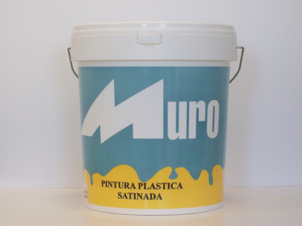 Pintura plastica muro satinado profesional hogar del - Pintura plastica satinada ...
